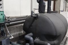 Bufor 6000L system chłodzenia 800 kW chłodu