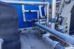 Zbiornik buforowy systemu chłodzenia maszyn do produkcji rur
