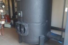 Zbiornik buforowy zamknięty bez wężownic