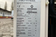 Tabliczka znamionowa chiller Airwell 100 kW
