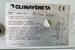 Agregat wody lodowej ClimaVeneta 5 kW - tabliczka znamionowa
