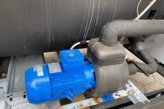 Chiller OPK 170 kW z mudułem hydraulicznym