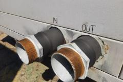 Stulz 157 kW FREE COOLING układ połączeniowy wody lodowej