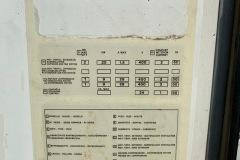 Chiller Trane 50 kW - tabliczka znamionowa