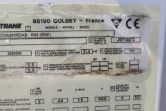 Chiller Trane CGA200RDAB-R22 50 KW