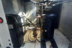 Chiller Trane CGA200RDAB po wymianie kompresora