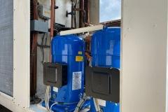 Agregat wody lodowej Uniflair 240 kW - podzespoły