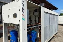 Wynajem chiller Uniflair 240 kW