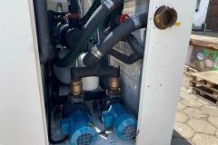 Wynajem chiller Uniflair 240 kWz mudułem hydraulicznym
