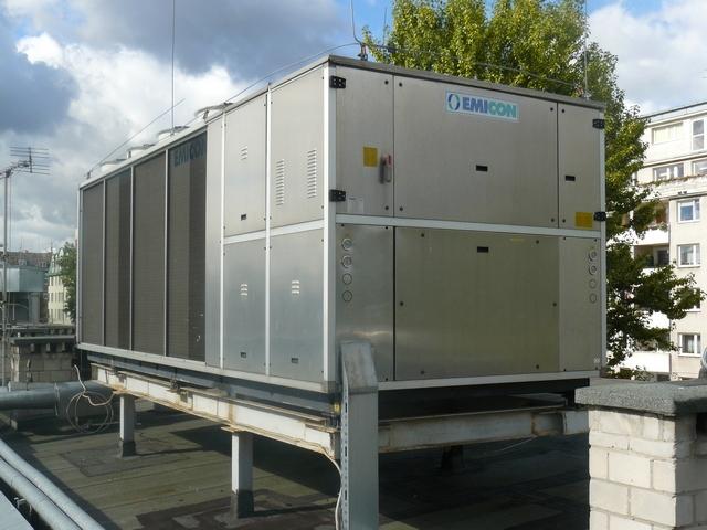 Chiller używany EMICON przystępna cena Chillertech