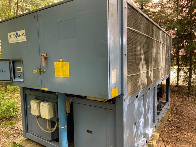 Przemysłowe wytwornice wody lodowej BlueBox