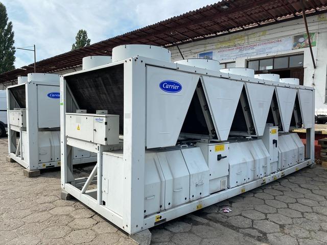 Przemysłowe wytwornice wody lodowej Carrier