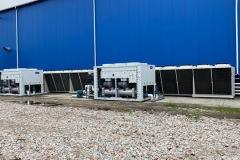 System chłodzenia maszyn z wykorzystaniem wody lodowej
