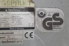 Naprawa Serwis TechnoTrans Heidelberg CombiStar beta c 200 L