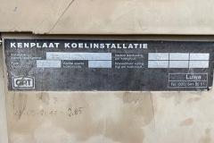 Serwis agregatu wody lodowej Ciat 10389-11.83.056 - tabliczka znamionowa