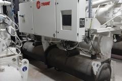 Serwis agregatów wody lodowej Trane chłodzonych wodą