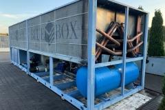 Skup agregatów wody lodowej Blue Box