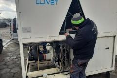 Serwis i modernizacja chiller CLIVET WSAT-XSC200H