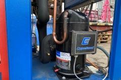 Agregat wody lodowej Deltatherm 50 kW - Sprężarka