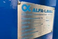Wymiennik ciepła AlvaLaval 279 kW - tabliczka znamionowa