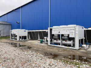 Sprzedaż i montaż agregatów wody lodowej