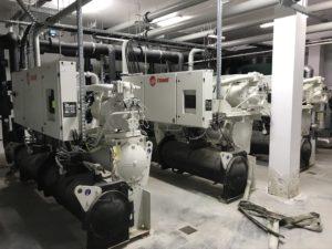 Serwis agregatów wody lodowej Trane