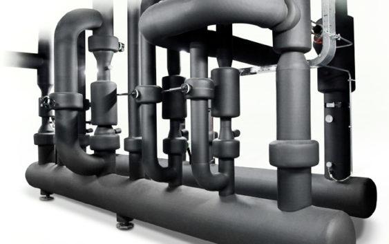 Instalacja wody lodowej z pvc-u