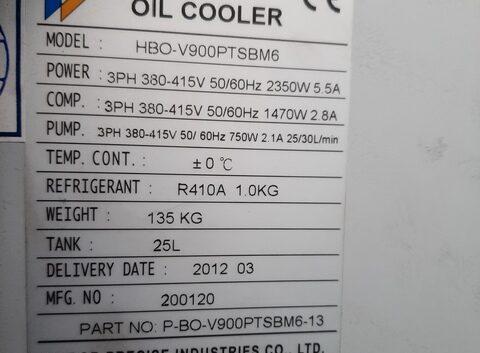 Serwis chiller oil Habor