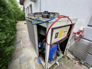 Chiller Air Blue Alfa 141