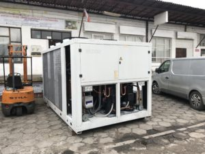 Chiller Weiss 320 kW z Free cooling