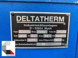 Chiller Deltatherm 30 kW z gwarancją