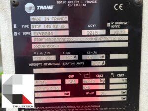 Serwis agregatu wody lodowej Trane RTAF145