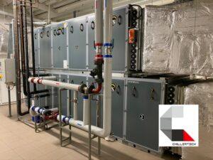 Klimatyzacja hal przemysłowych i komercyjnych