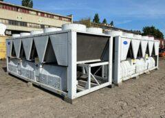 Używane agregaty wody lodowej przemysłowe