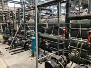 Chłodzenie glikolem - instalacja wody lodowej